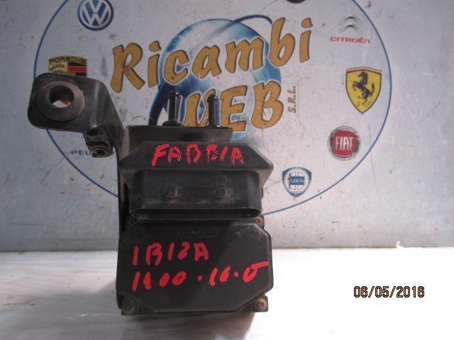 seat ibiza skoda fabia 1.4 16v abs esp bosch 0265222006