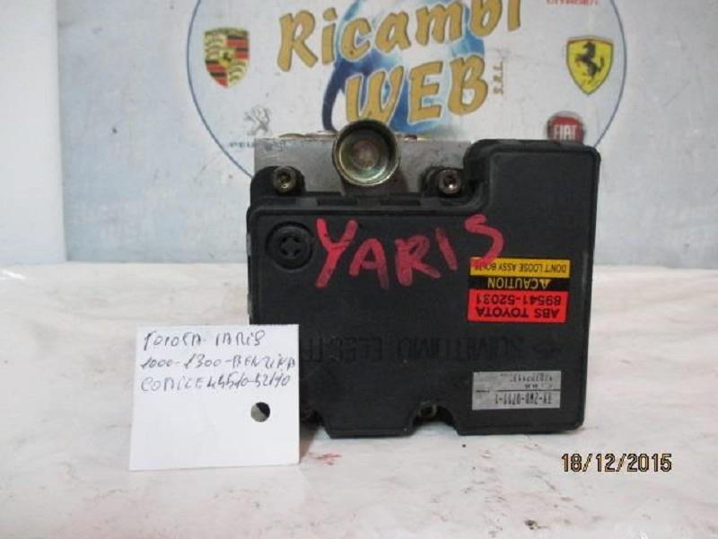 toyota yaris 1.0 1.3 b abs 44510-52190