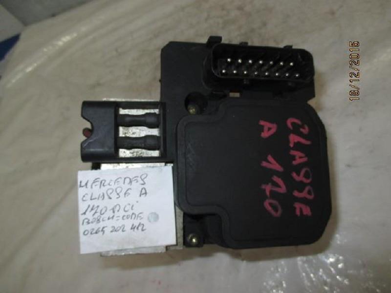 mercedes classe a 170 dci abs bosch 0265202412