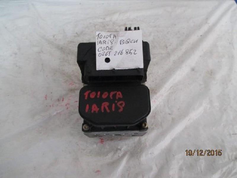 toyota yaris abs bosch 0265216852