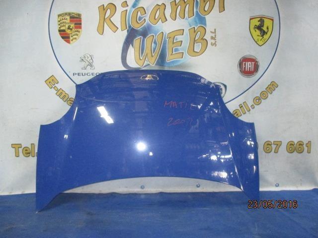 daewoo matiz 1999 cofano blu chiaro