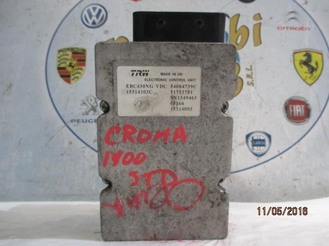 fiat croma 1.9 jtd 2006 abs trw 54084739c