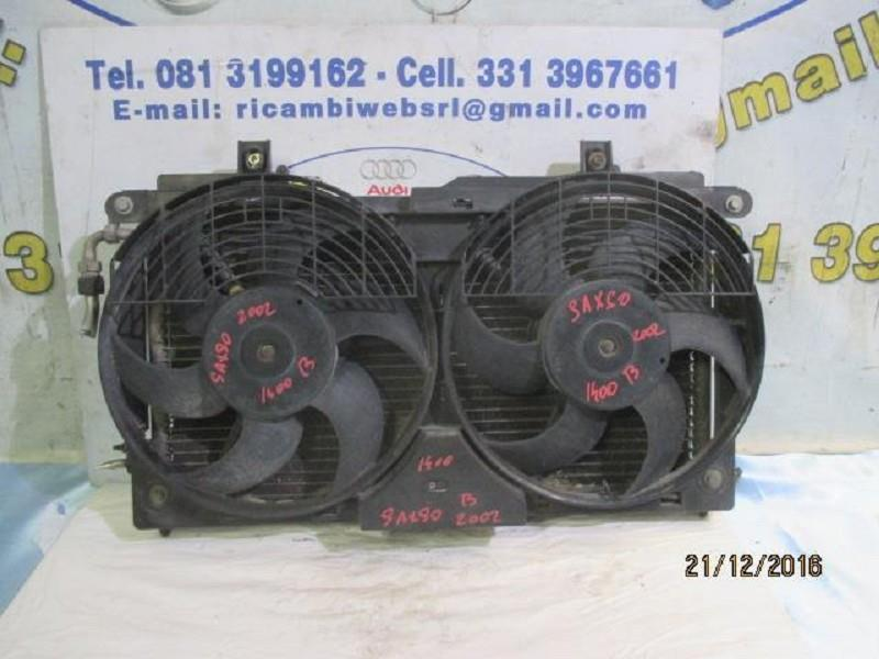 citroen saxo 2002 1.4 b radiatore a.c con ventole