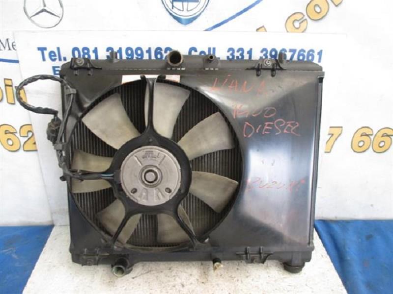 suzuki liana radiatore acqua con ventola