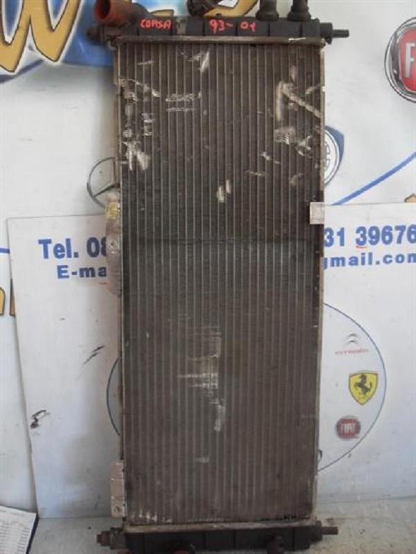 opel corsa 1993-2001 radiatore acqua