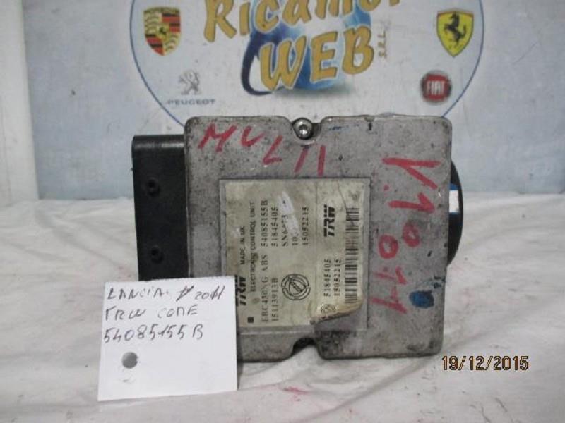 lancia y 2011 abs trw 54085155b