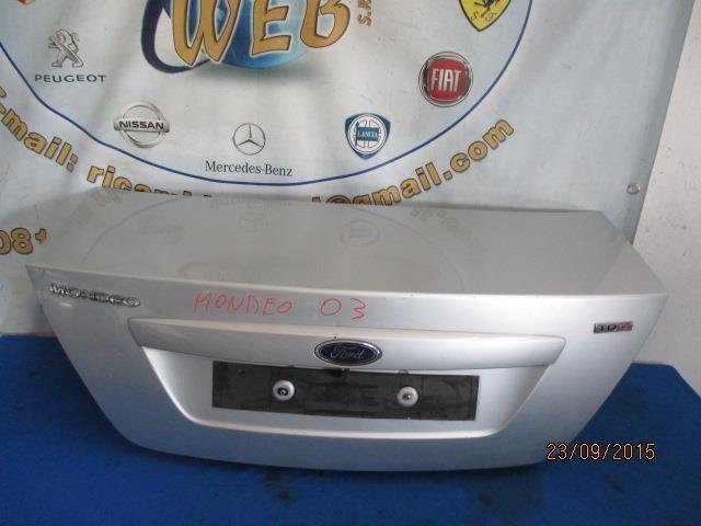 ford mondeo 2003 baule posteriore grigio chiaro