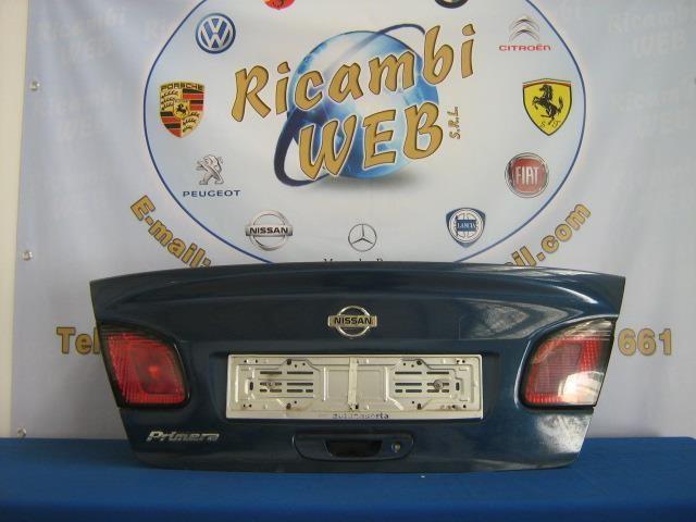 nissan primera 1999-2001 baule posteriore blu