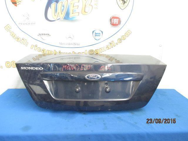 ford mondeo 2004 baule posteriore blu scuro