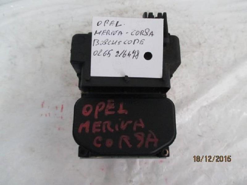 opel meriva /corsa abs bosch 0265216478