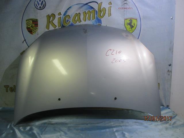 renault clio 2003 cofano grigio argento