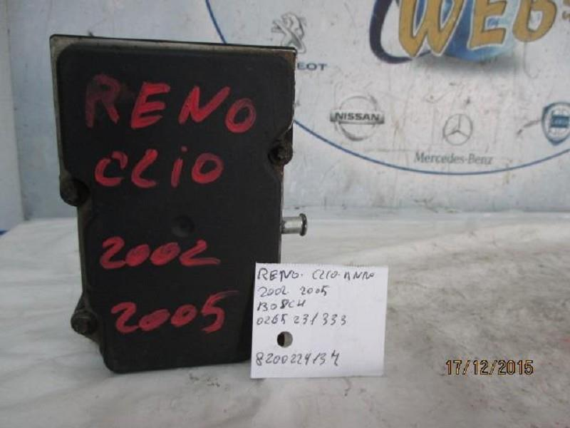 renault clio 2002-05 abs bosch 0265231333  8200229137