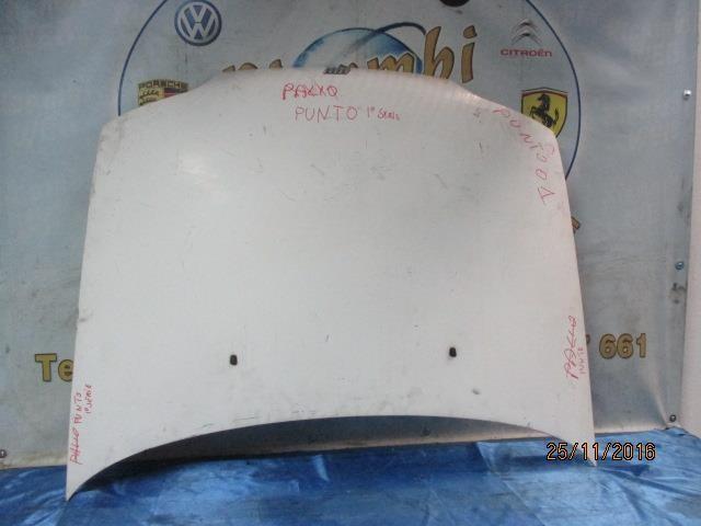 fiat punto 1997 cofano bianco