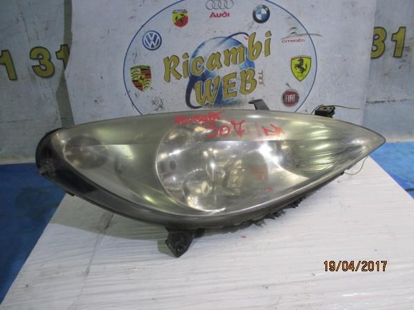 peugeot 307 fanale anteriore dx