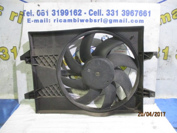 ford fusion 1.4 benzina ventola radiatore acqua