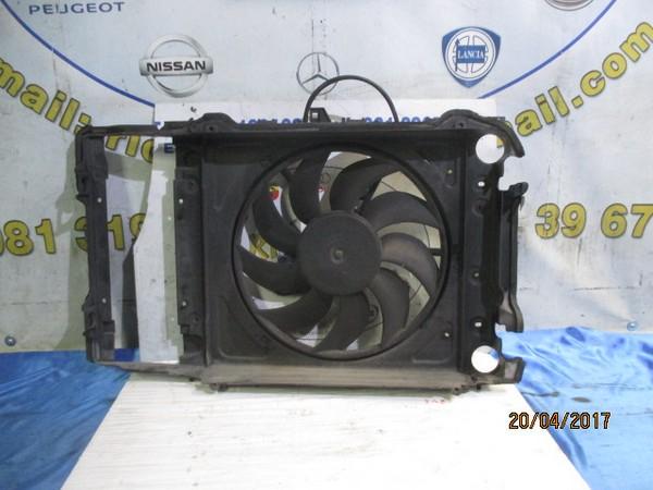 audi a2 1.4 benzina ventola radiatore acqua con convogliatore