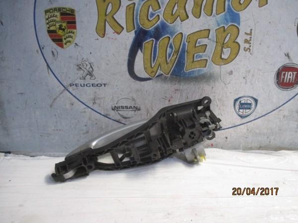 opel corsa d 2008 maniglia esterna posteriore dx grigio chiaro