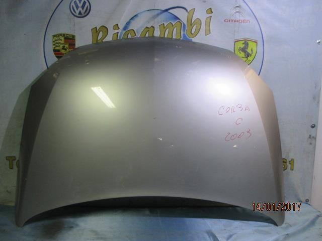 opel corsa c 2003 cofano grigio scuro