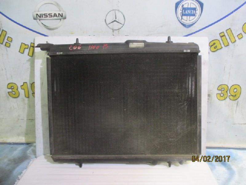 peugeot 206 1.1 b radiatore acqua