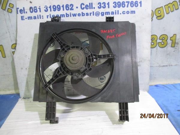 smart fortwo ventola raffreddamento radiatore acqua