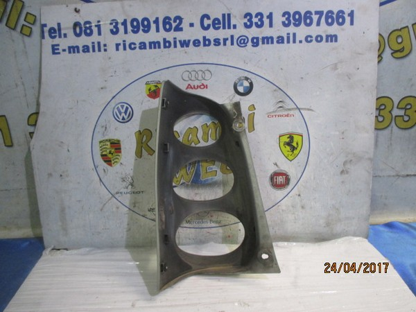 smart fortwo plastica fanale posteriore dx grigio argento