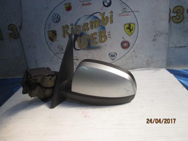 opel meriva 2006 specchietto sx manuale grigio argento