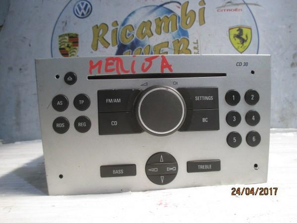 opel meriva autoradio cd