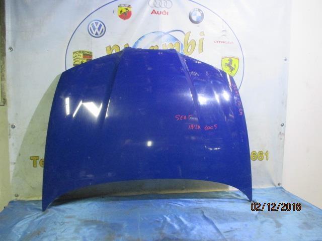 seat ibiza 2006 cofano blu elettrico