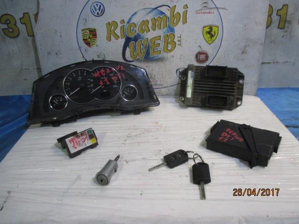 opel meriva 1.7 tdci kit accensione motore isuzu cod.8973509487 *promo