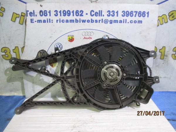 opel meriva 2006 1.7 tdci ventola aria condizionata con convogliatore