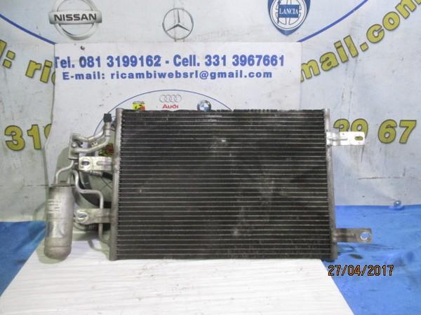 opel meriva 2006 1.7 tdci radiatore a.c con tubi