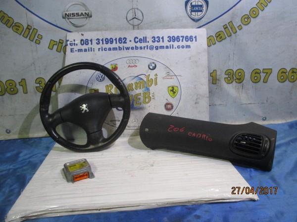 peugeot 206 cabrio kit airbag completo **promo**