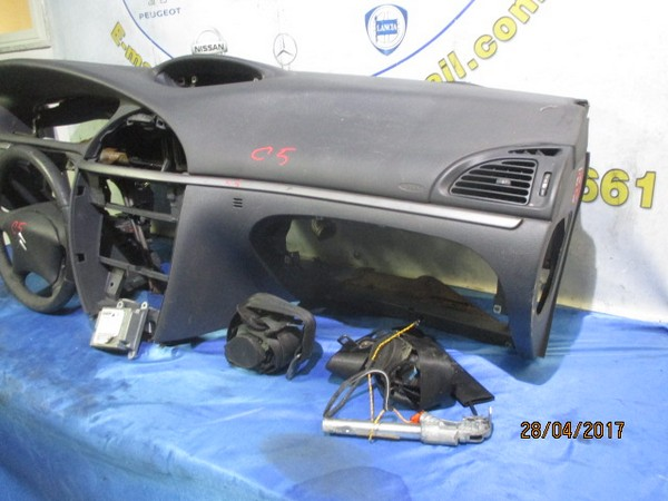 citroen c5 2006 kit airbag completo