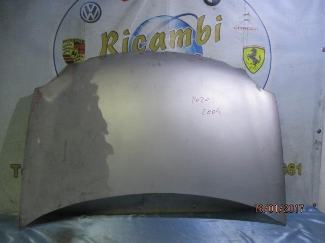 volkswagen polo 2004 cofano grigio argento