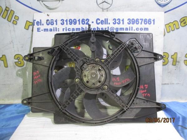 alfa romeo 147 1.9 jtd ventola radiatore acqua