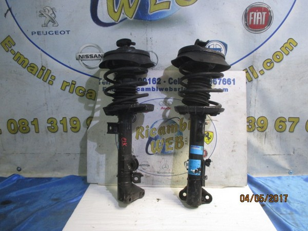 mercedes clk '99/00 ammortizzatori anteriore dx e sx