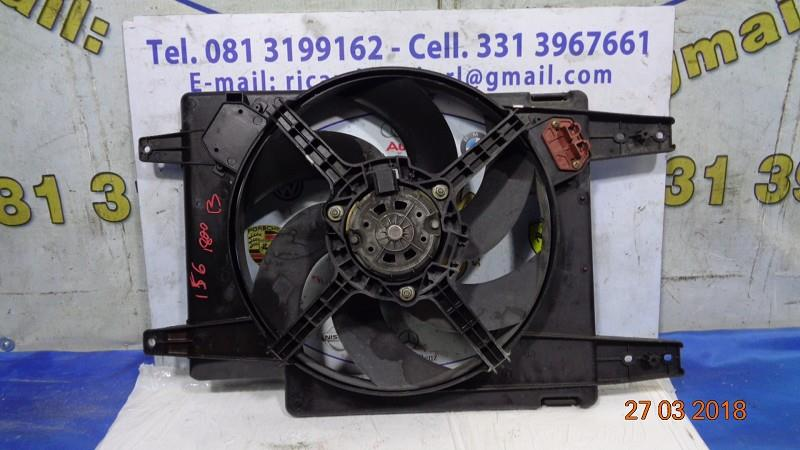 alfa romeo 156 1.8 benzina ventola radiatore