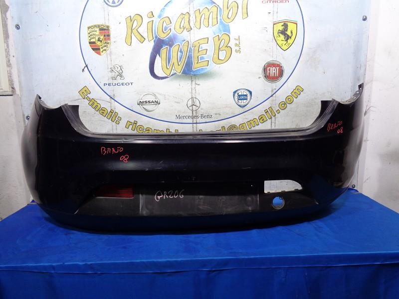 fiat bravo '08 paraurti posteriore blu (manca retronebbia dx)