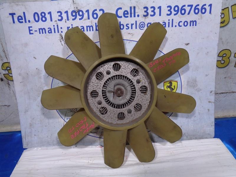 isuzu trooper 2.5 td ventola completa di centrifuga