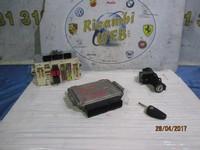 ALFA ROMEO ELETTRONICA  ALFA ROMEO 147 2° SERIE 1.9 JTDM 120CV 8V KIT CHIAVI CODICE 0281012858