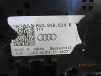 AUDI ACCESSORI  AUDI A3 2012 CONSOLLE CENTRALE CON TASTO STOP/START CODICE 8V0.919.614