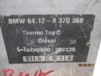BMW ELETTRONICA  BMW E46 - 320 WEBASTO CODICE: 6412-8370068