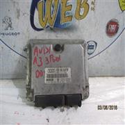 AUDI ELETTRONICA  AUDI A3 110 CV 1.9 TD CENTRALINA MOTORE BOSCH COD.0281001848