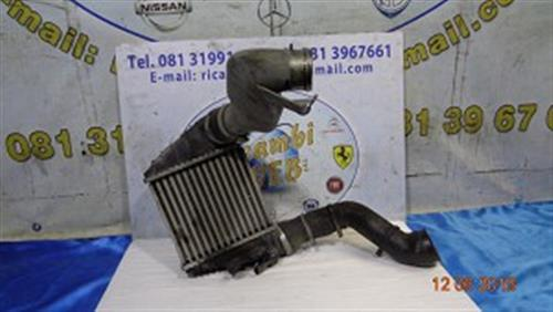AUDI TERMICO CLIMA  AUDI A3 1.8 TB '02 RADIATORE INTERCOOLER COMPLETO DI TUBI 1J0145203F
