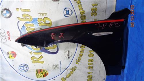 ALFA ROMEO CARROZZERIA  ALFA ROMEO 159 PARAFANGO ANTERIORE SX BLU
