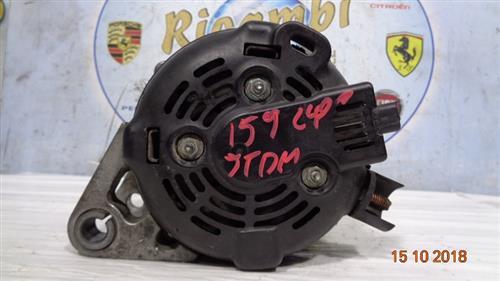 ALFA ROMEO MECCANICA  ALFA ROMEO 159 2.4 JTDM ALTERNATORE 50500728 C132