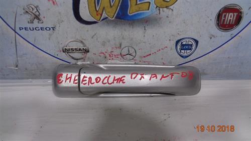 JEEP CARROZZERIA  JEEP CHEROKEE '08 MANIGLIA ESTERNA ANTERIORE DX GRIGIO CHIARO