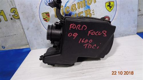 FORD MECCANICA  FORD FOCUS 1.6 TDCI  '09 FILTRO ARIA COMPLETO DI DEBIMETRO