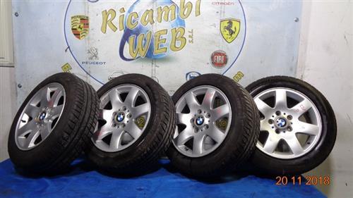 BMW ACCESSORI  BMW 320 D CERCHI IN LEGA R16 POLLICI 7 CON GOMME 205 55 16 (AL 95%)