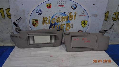 AUDI CARROZZERIA  AUDI A4 '03 ALETTE PARASOLE DX/SX     (PREZZO CADAUNO)